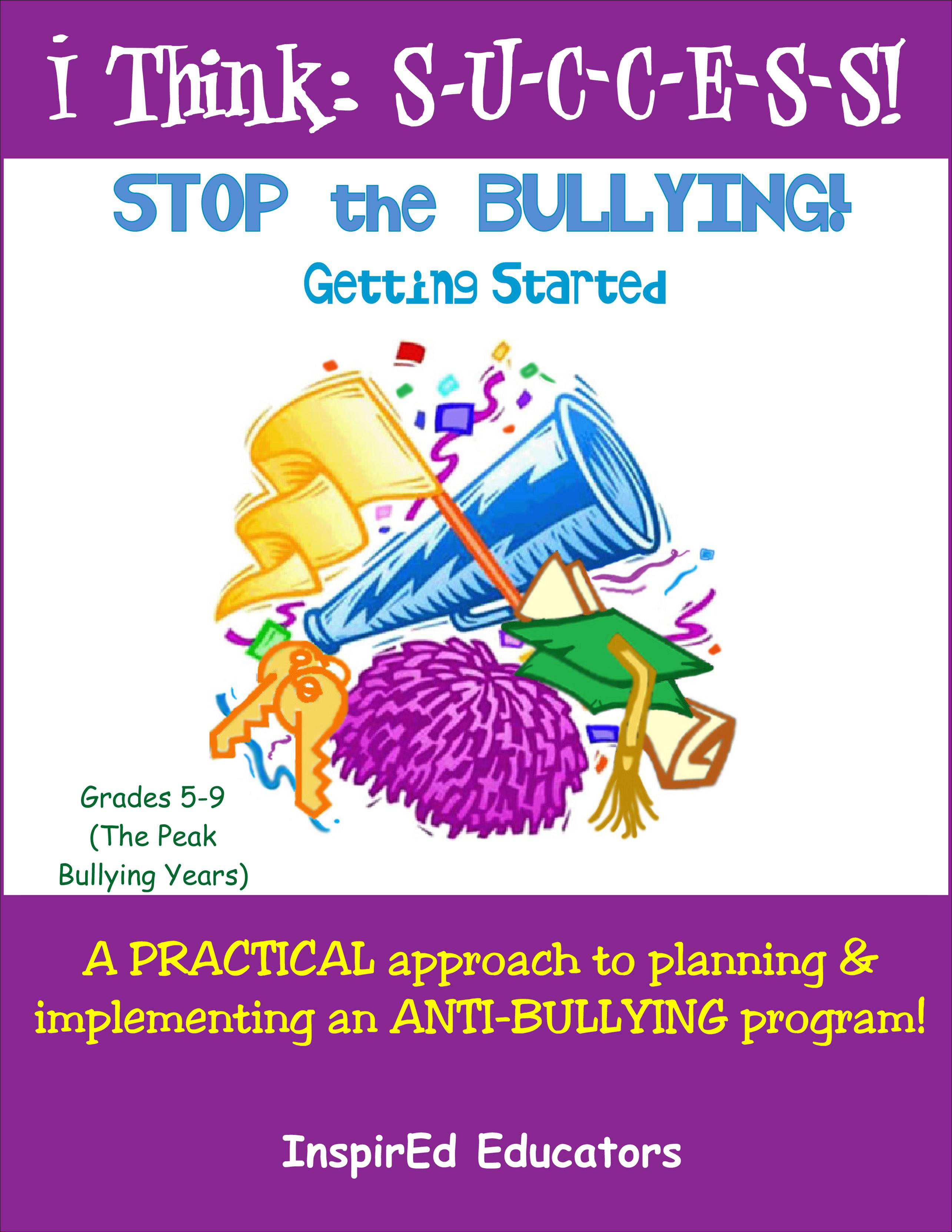 i Think: Success, Stop the Bullying! Part 1 Activity Book