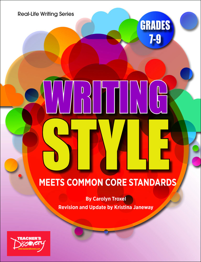 Writing Style Activity Book
