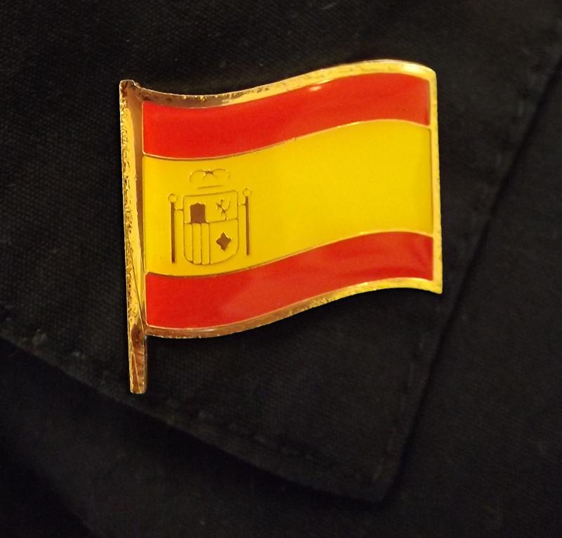 Spanish Flag Pin