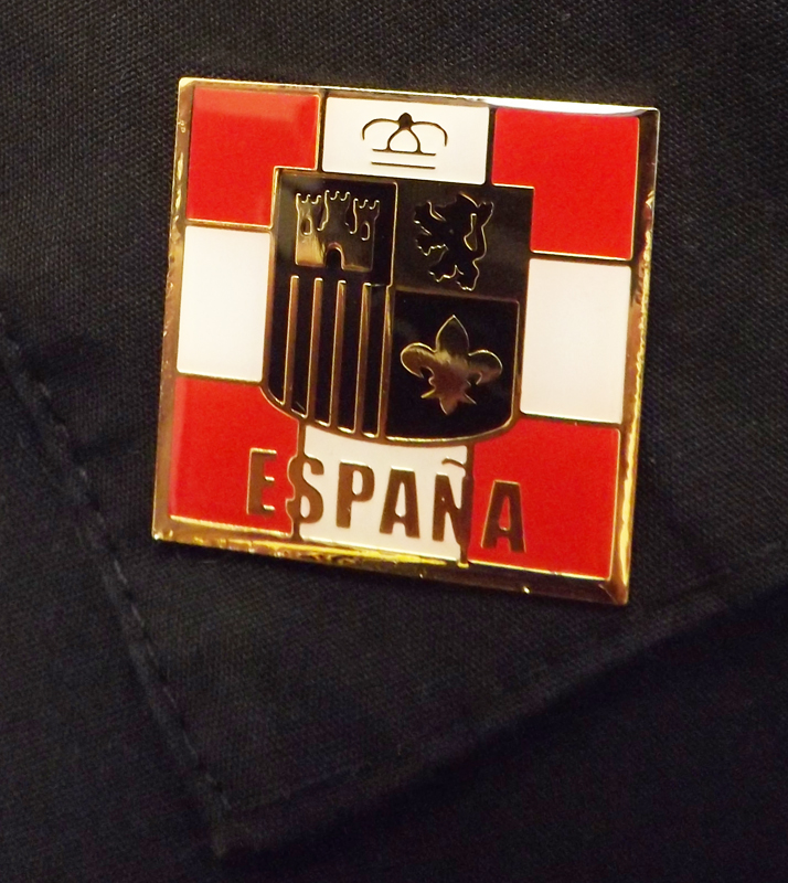 Spain Nation Pin