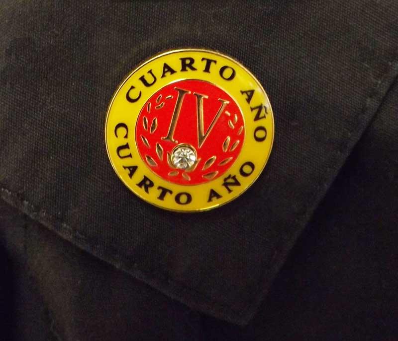 Spanish Fourth-Year Pin