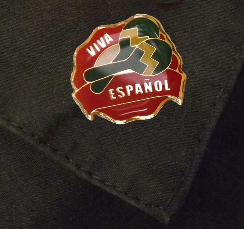 Viva Español Pin