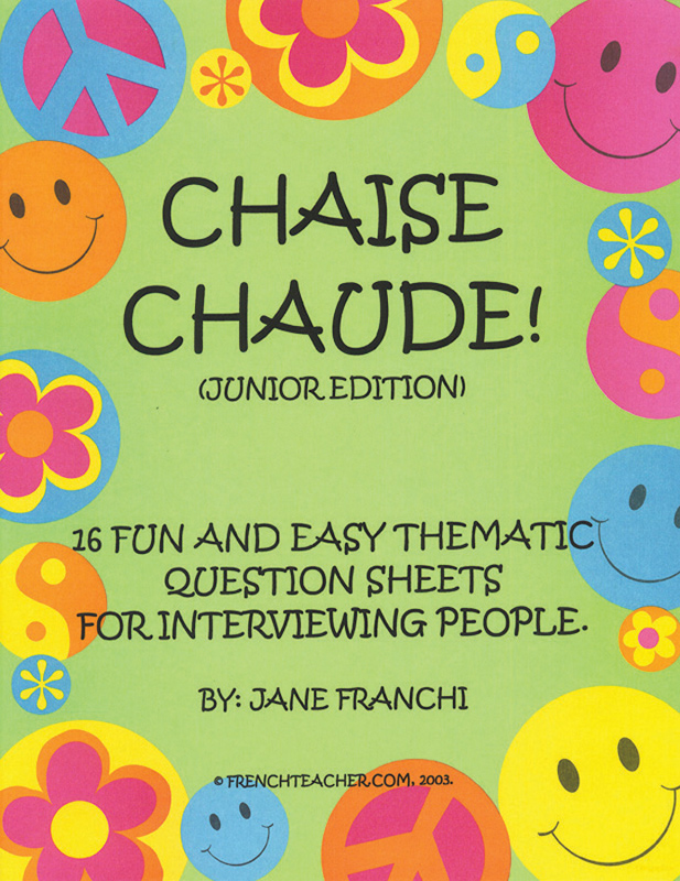 Chaise chaude ! French Activity Packet