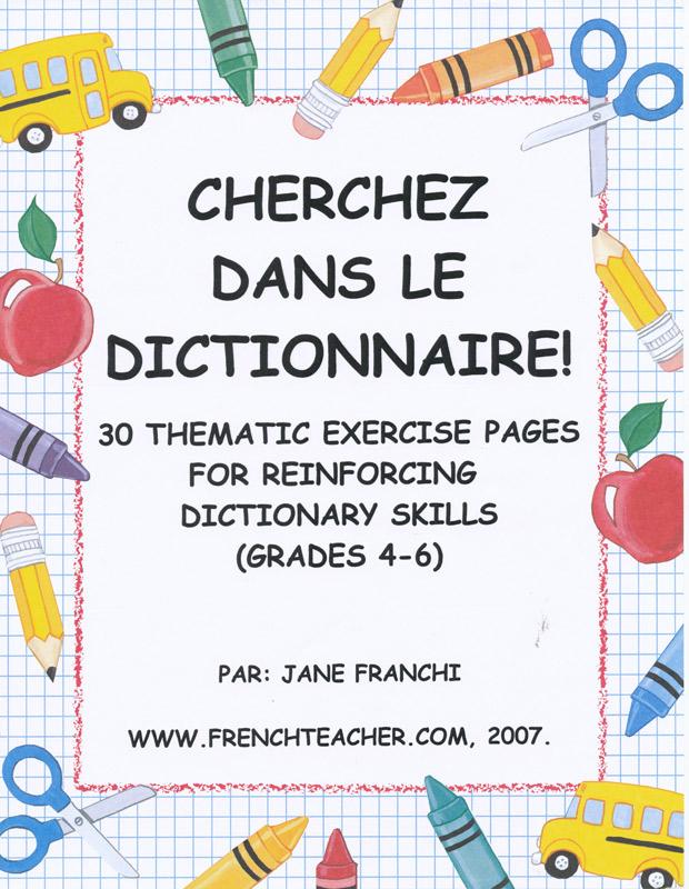 Cherchez dans le dictionnaire Activity Packet