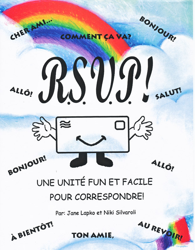 RSVP French Activity Packet