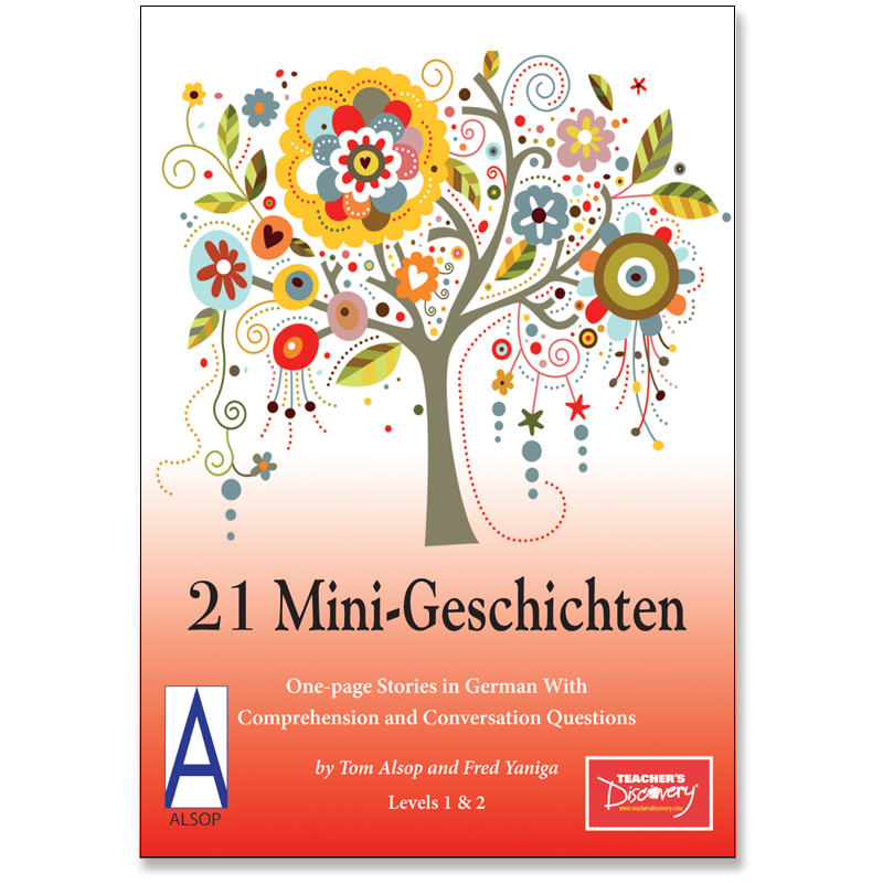 21 Mini-Geschichten German Level 2 Reader