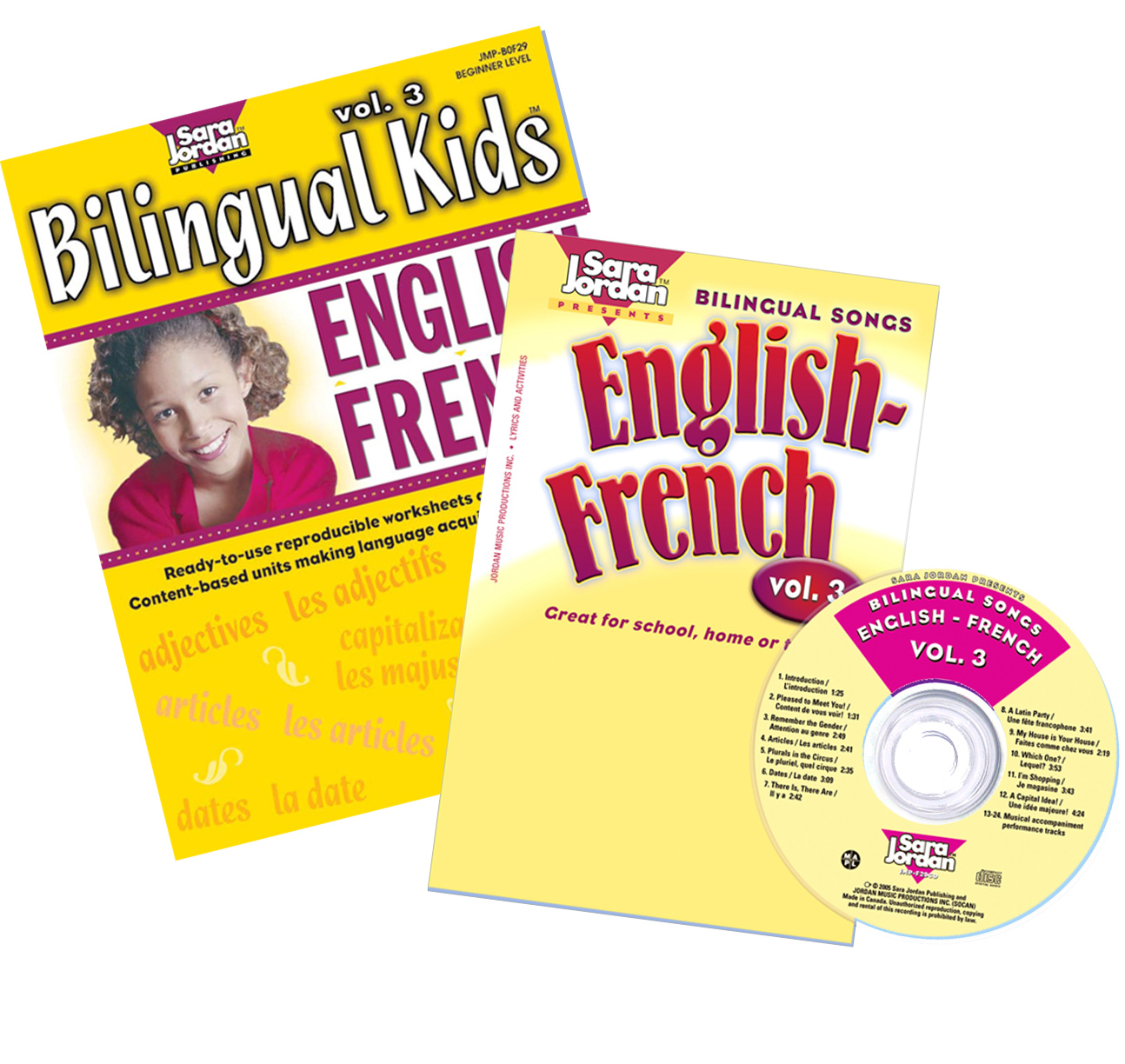 Bilingual Songs: English-French Vol. 3 CD/Book Download