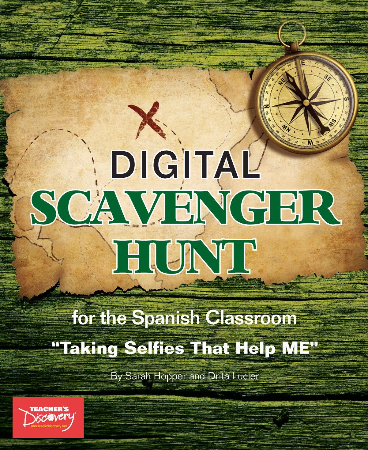 Spanish Digital Scavenger Hunt Book