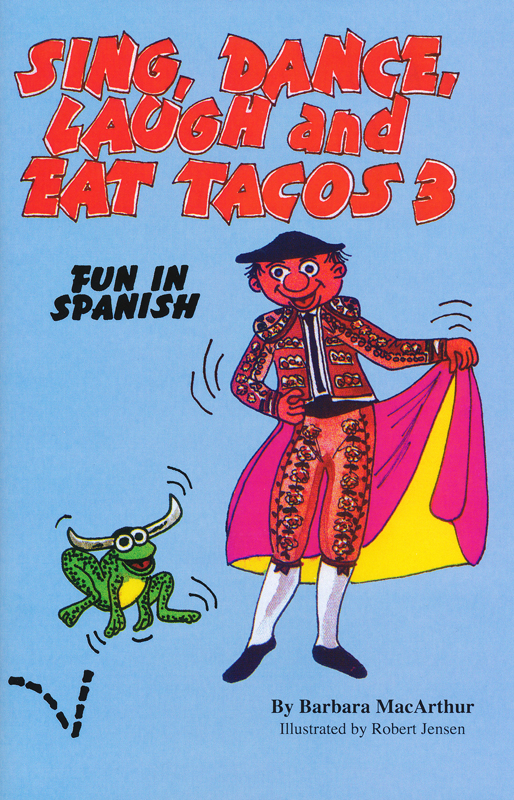 Sing, Dance, Laugh and Eat Tacos 3 Lyric Book and Music CD Set