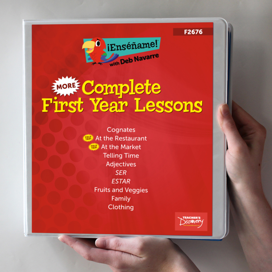 ¡Enséñame!™ More Complete Year Lessons Set of 10