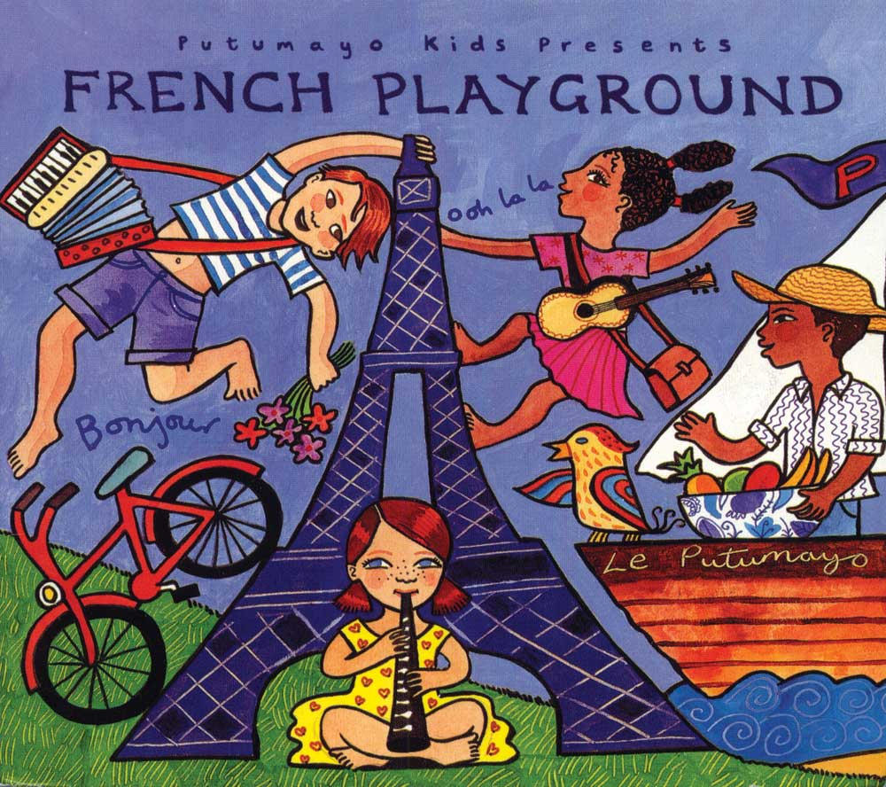 Putumayo French Playground CD