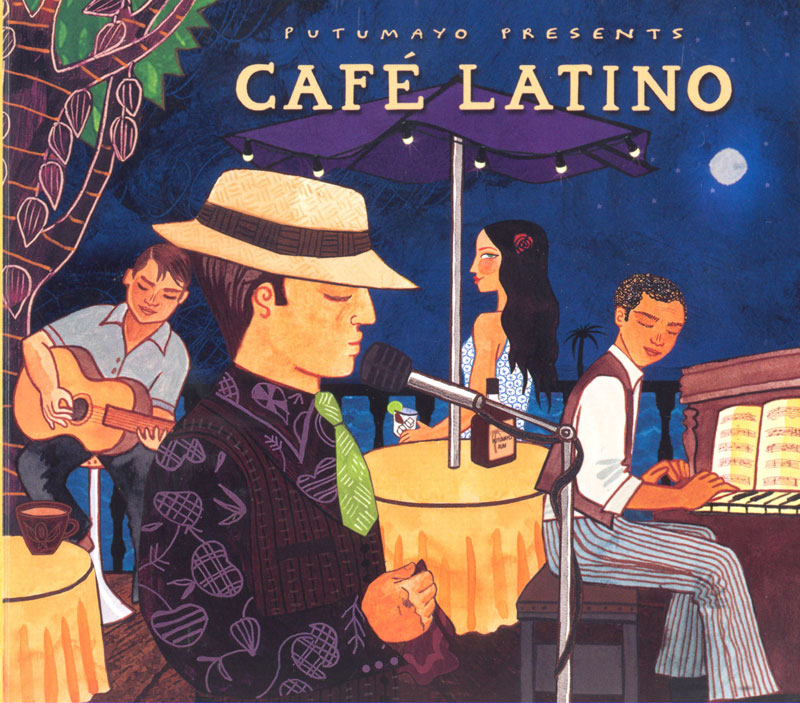 Putumayo Cafe Latino Spanish CD