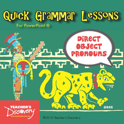 Direct Object Pronouns PowerPoint Spanish CD