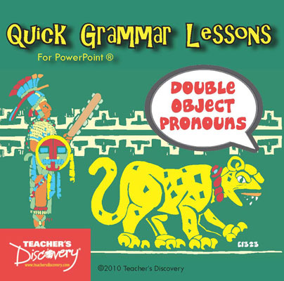 Double Object Pronouns Spanish PowerPoint CD