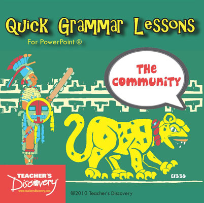 The Community Spanish PowerPoint CD