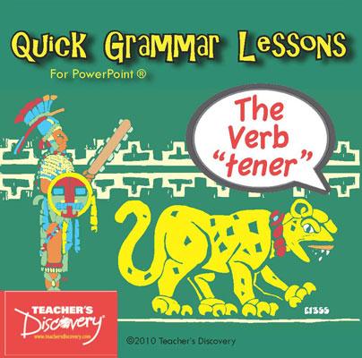 The Verb Tener PowerPoint CD