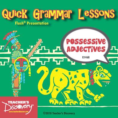 Possessive Adjectives Adobe Flash Presentation
