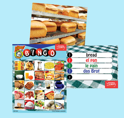 Food bingo flashcards 2010 french teacher 39 s discovery for Farcical noun