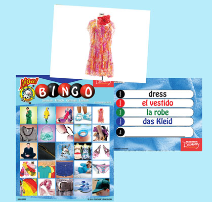Clothing Bingo & Flashcards (2010)