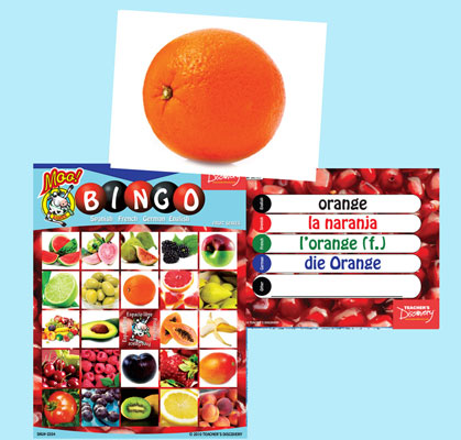 Fruit Bingo & Flashcards