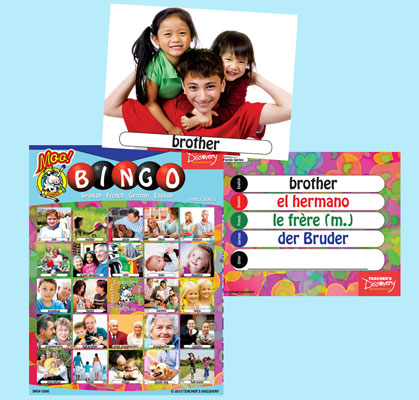 Family Bingo & Flashcards