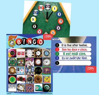 Time Bingo & Flashcards