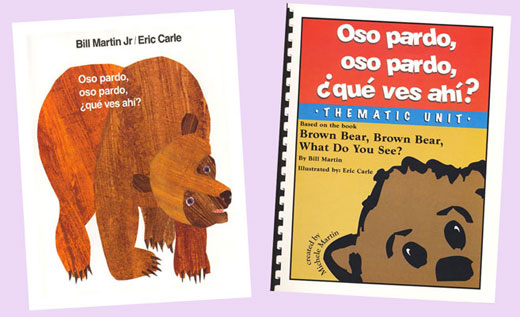 Oso Pardo, Oso Pardo Spanish Book and Thematic Unit