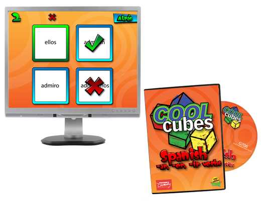 Cool Cubes™ Spanish Game