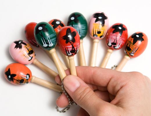 Mini-maraca Keychain - Mini-maraca Keychain - Individual