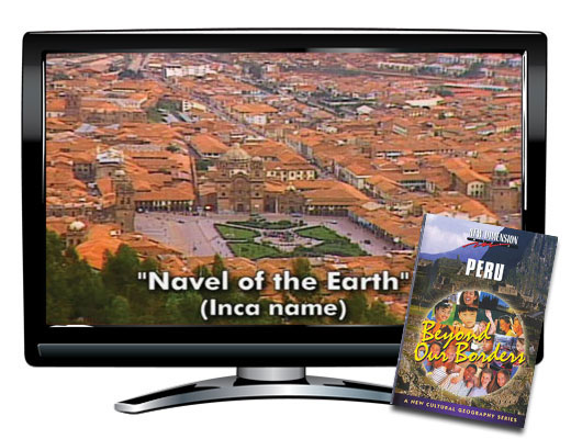 Peru Beyond Borders Study Guide & DVD
