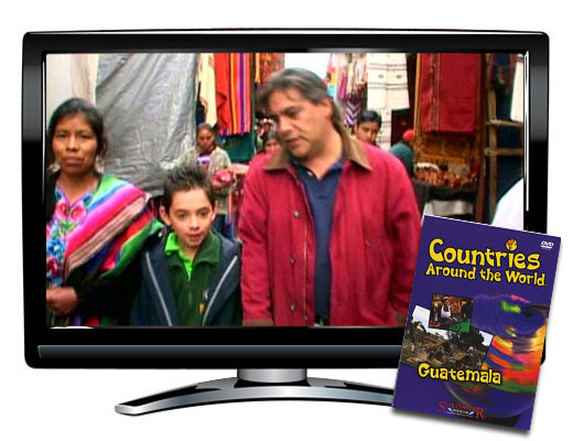 Guatemala Countries Around the World DVD