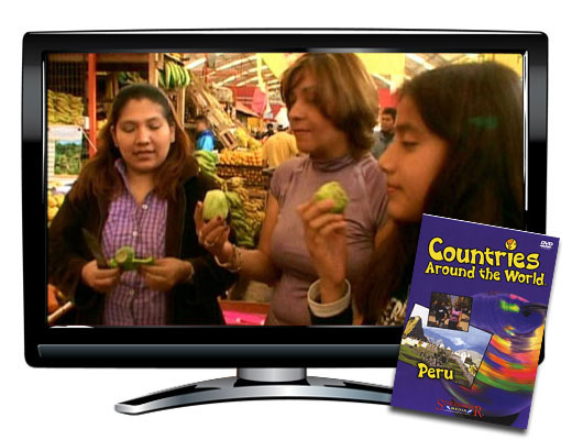 Peru Countries Around the World DVD