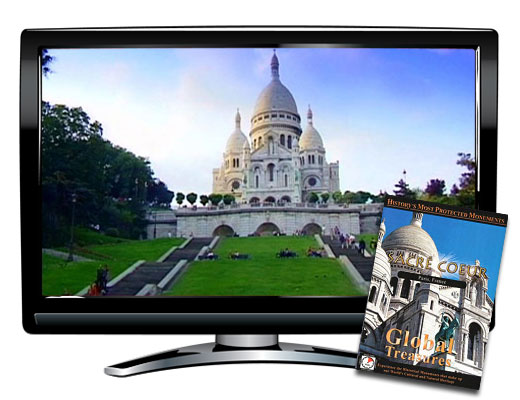 Global Treasures Sacre Coeur Paris DVD