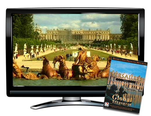 Global Treasures Versailles France DVD