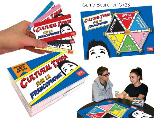 Cultural Trivia Game Sur la Francophonie Game