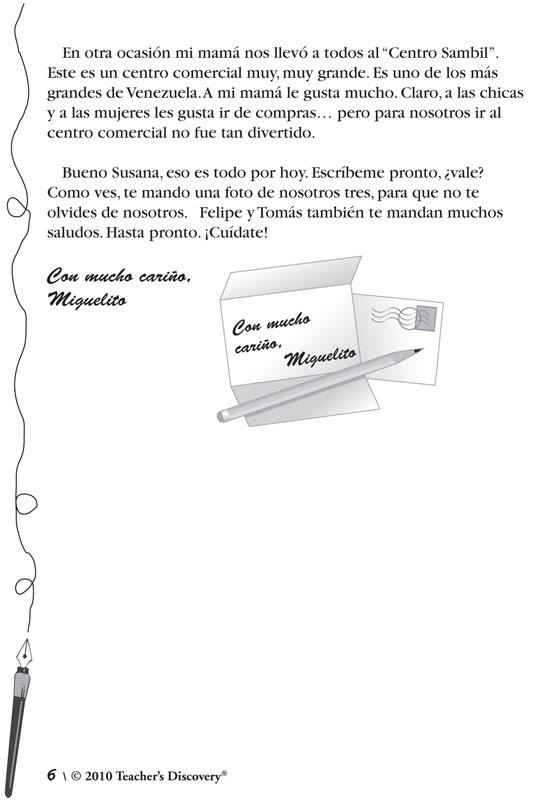 Cartas a Susana Level 2 Spanish Reader, Spanish: Teacher\'s Discovery