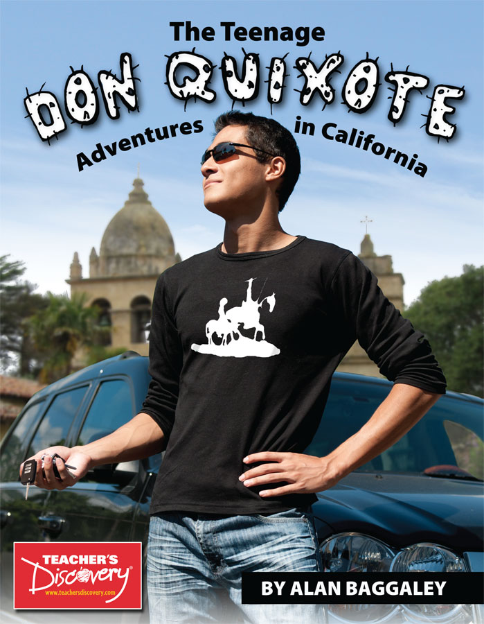 Teenage Don Quixote: Adventures in California Third-year Spanish Reader Book on CD