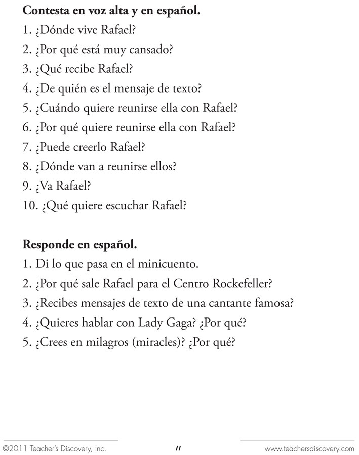 21 minicuentos spanish level 1 reader spanish teachers discovery enlarge image fandeluxe Images