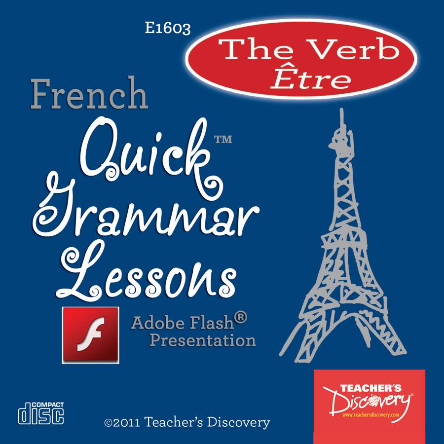 Verb Être French Adobe Flash Presentation