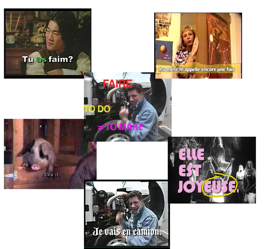 QUACK! Set of 5 French DVDs