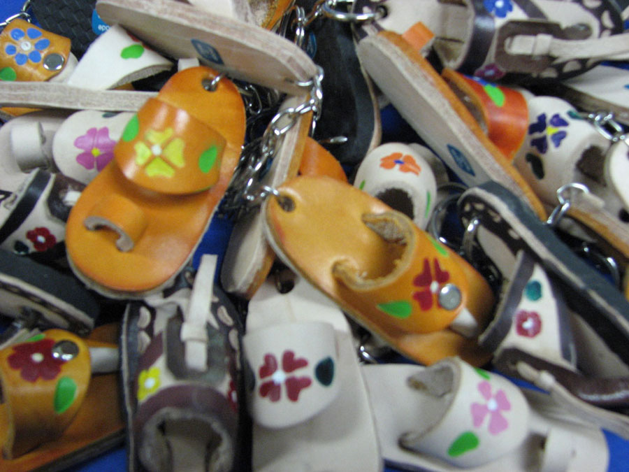 Huarache Keychain