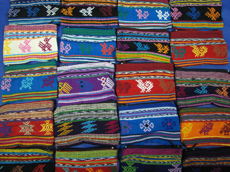 Mini Woven Pouches From Guatemala