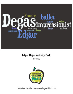 Edgar Degas Activity Packet Download