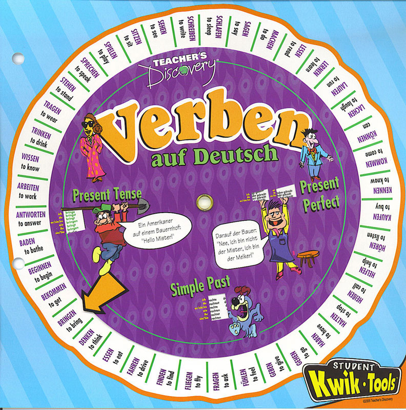 German Verb Wheel