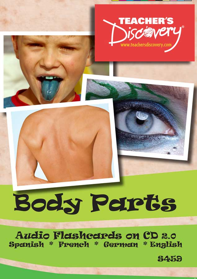 Audio Flash Cards Spanish/French/German/English Body Parts (2010)