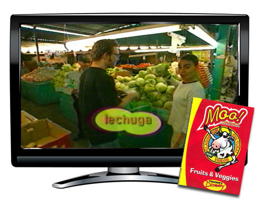Moo!™ Fruits and Veggies Spanish Video Download