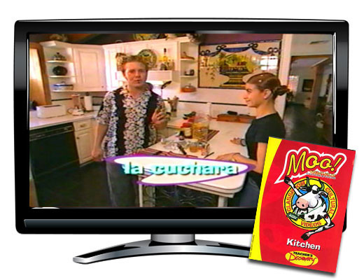 Kitchen nouns vocabulary dvd spanish teacher 39 s discovery for Farcical noun