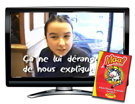 Moo!™ Paris Teens Episode 2: L'ecole Video