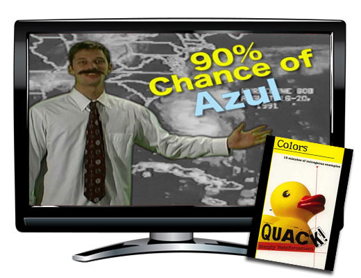 Quack!™ Colors Spanish Video