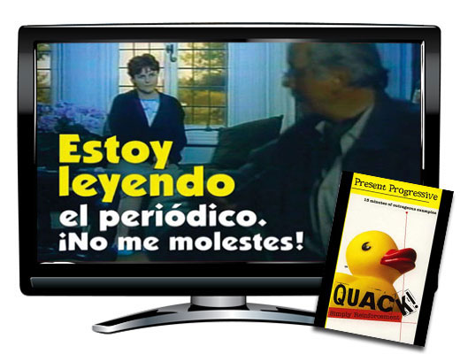 Quack!™ Present Progressive Spanish Video